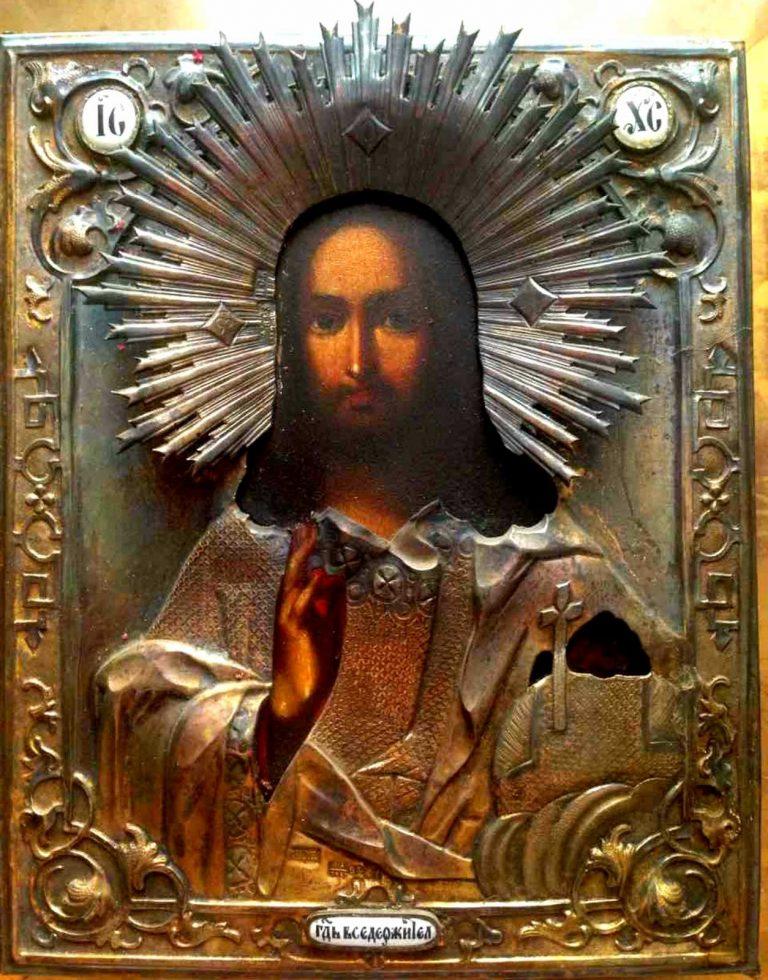икона святого спасителя